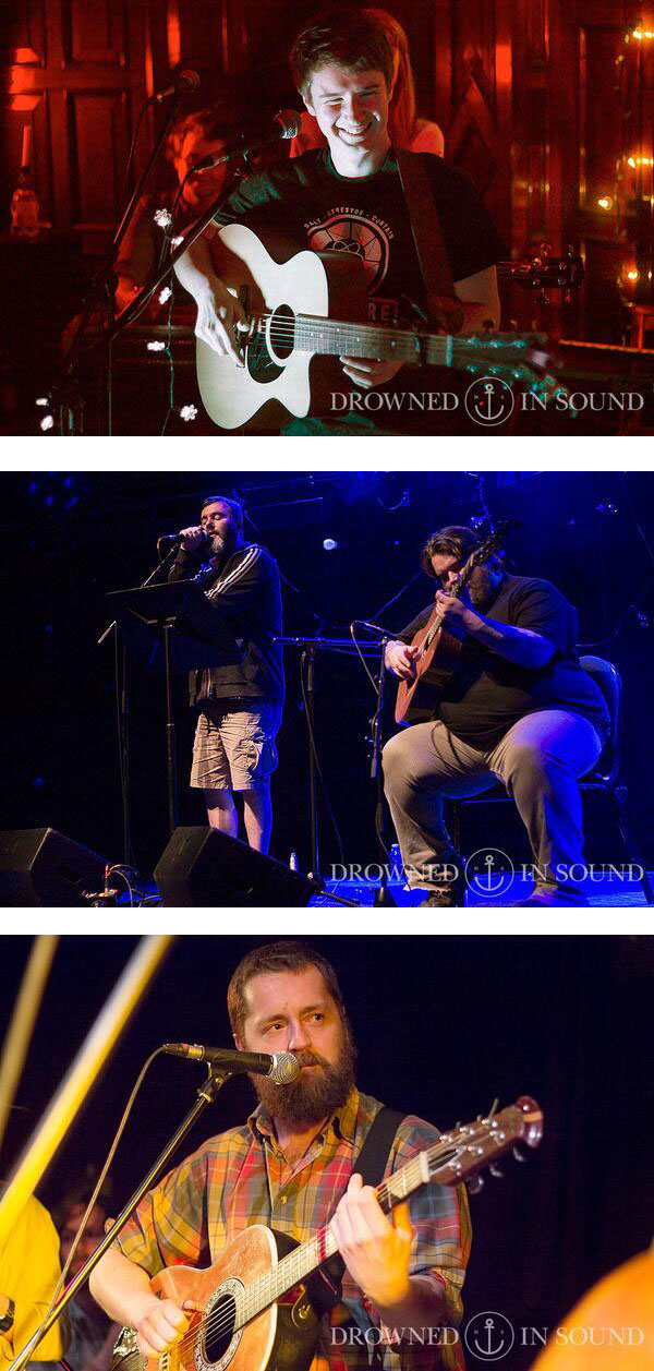 Drowned In Sound - RM Hubbert and Aidan Moffat, The Lake Poets and Blue Rose Code galleries now up